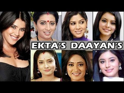 Ekta Kapoor's NEW DAAYAN SHOW with TV's BIG STARS - MUST WATCH !!!