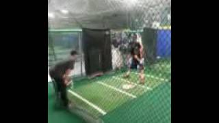 2015 Grainy video but working with Yankees/Mets hitting coach Kevin Long