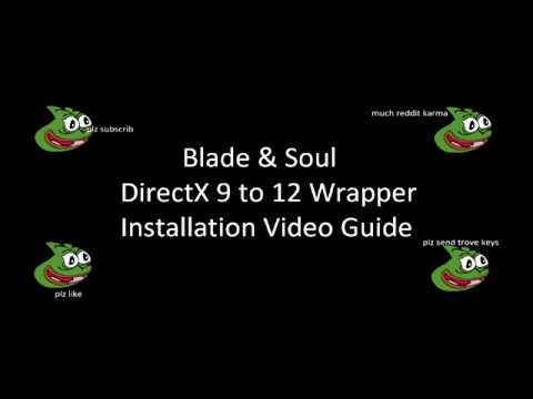 [BnS] (UPDATED FOR 1 4+) DirectX12 Mod Installation Guide - B&S Reddit IQ  safe