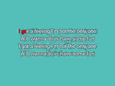 Sheryl Crow   All I wanna do is have some fun [Karaoke]
