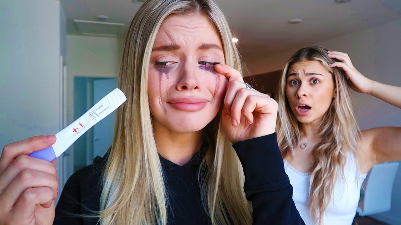 "Telling My BEST FRIEND ""I'm Pregnant"" Prank! (I Cried)"