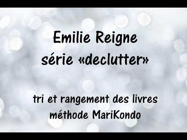 Declutter livres - Méthode Marie Kondo