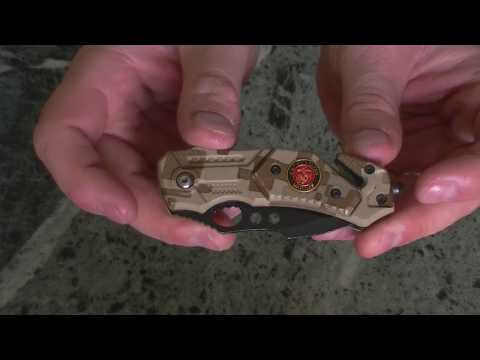 Nóż ratowniczy Columbia United States Marine .