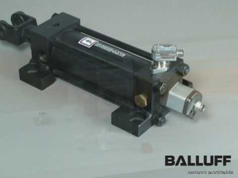 Hydraulic Cylinder Linear Feedback - Balluff Micropulse Transducer