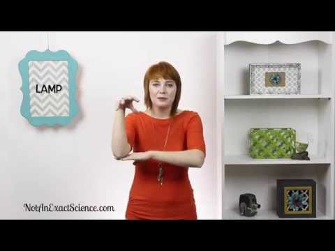 Lamp in Baby Sign Language, ASL