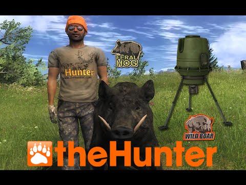 The Hunter Feral Hog & Wild Boar Feeder Locations 2016