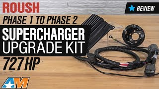 2015-2017 Mustang GT Roush Phase 1 to Phase 2 Supercharger Upgrade Kit Review