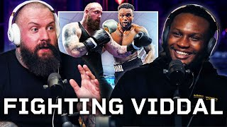 True Geordie On Sparring Viddal Riley
