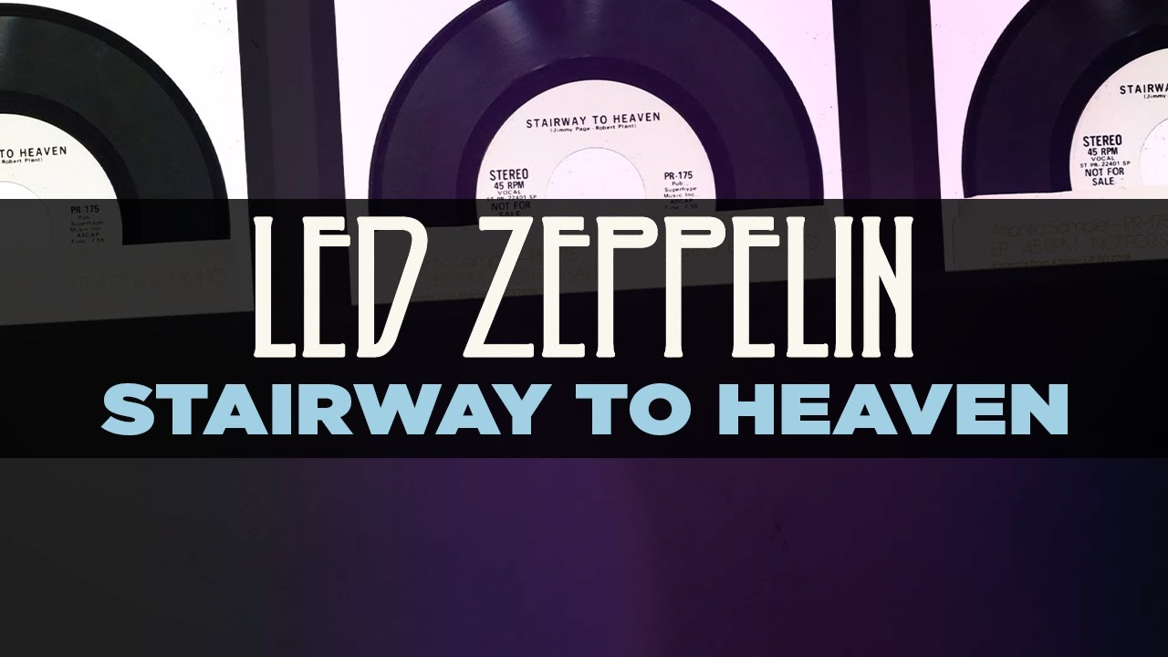 Led Zeppelin Stairway To Heaven Official Remastered Audio Youtube