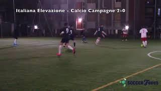 JLEAGUE GIRONE B - UNDICESIMA GIORNATA - Italiana Elevazione vs Calcio Campagne