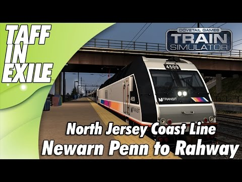 Train Simulator | North Jersey Coast Line | Newark Penn to Rahway