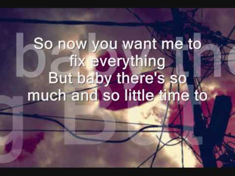 A Rocket To The Moon - I Think About You Everyday Lyrics