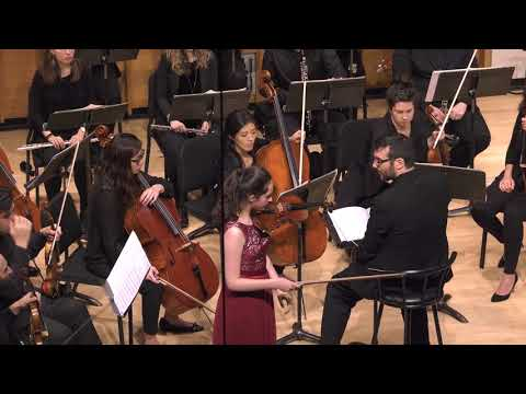 Julia Jones, violin - 2018 Kaufman Music Center Concerto Competition Winners' Concert