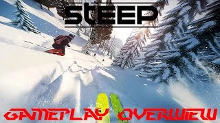 Skill Showcase Time (or not)! Steep Open Beta Gameplay