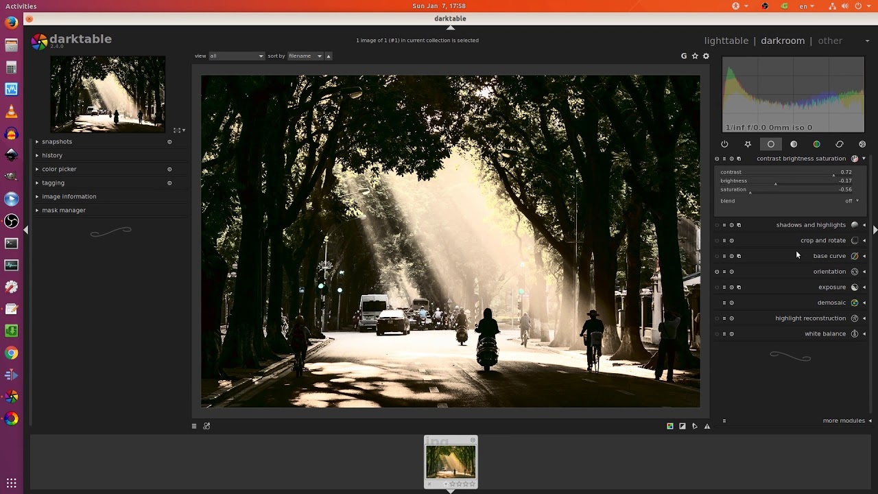 Lightroom for Linux OS? Try: Darktable | RawTherapee by Linus PvP