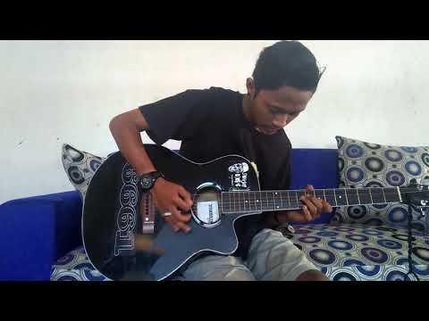 Anan sinatra kepalkan tangan kiri (guitar cover)