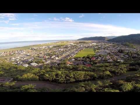 West Coast surfing,  South Island NZ (december 2013)