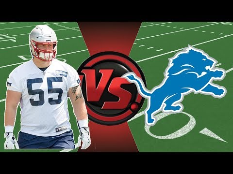 Hjalte Froholdt Vs Detroit Lions // All Snaps // NFL Preseason Week 1