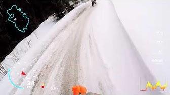 GoPro Gps tiedot monttupyörällä ajaessa