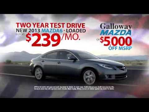 Sam Galloway Mazda Presidents Day Sales Event -- Mazda6 - YouTube