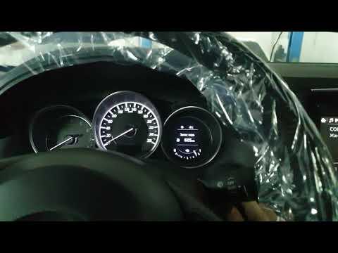 Mazda CX5 сервисный режим для замены задних колодок