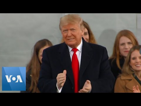 President Trump Attends March for Life Rally