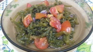 Ensaladang Lato / Seaweed Salad