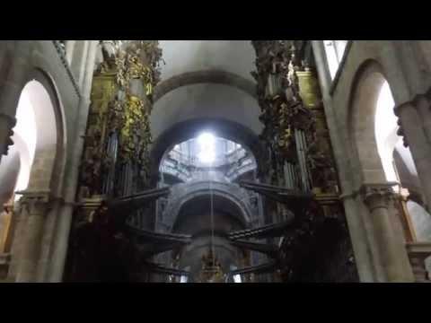 Organ, Santiago de Compostela Cathedral, Spain 2