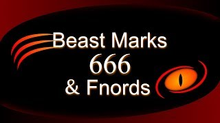 Beast Marks 666 And Fnords