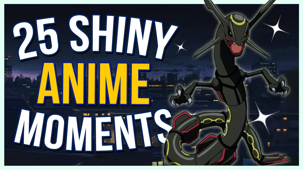 All 25 shiny pokemon met in the anime supreme countdowns youtube