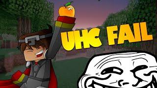 Minecraft FAIL UHC | The One Heart Warrior (Minecraft Ultra Hardcore)
