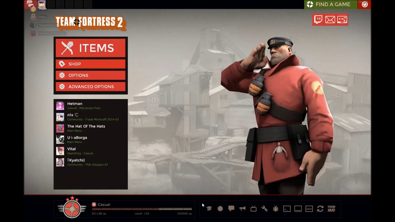 4 Fools On Discord Re Create Heavy Is Dead In A Tf2 Lobby