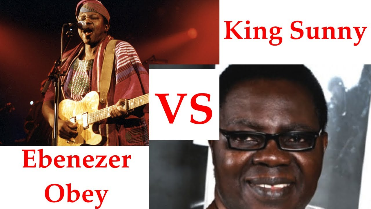 Image result for sunny ade and ebenezer obey the repeated history of two rivals: chief ebenezer obey vs king sunny ade, davido vs wizkid THE REPEATED HISTORY OF TWO RIVALS: CHIEF EBENEZER OBEY VS KING SUNNY ADE, DAVIDO VS WIZKID maxresdefault