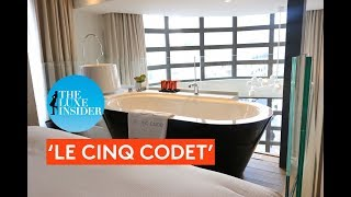 Le Cinq Codet | Duplex Suite by The Luxe Insider