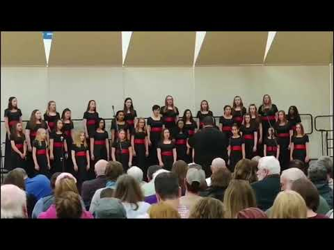 """""""You Will Be Found"""" Bella Voce-Dundee Middle School"""