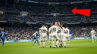 Kein Ronaldo, Keine Zuschauer - Leeres Real-Stadion !