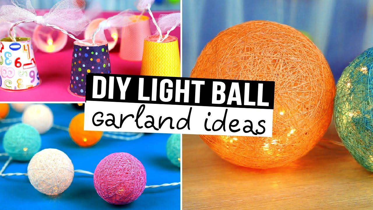 diy garland decorating ideas - youtube