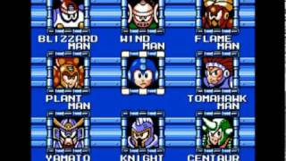 All Classic Mega Man Series Stage Select Music