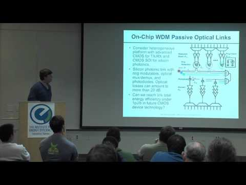 Energy Efficiency of Optoelectronic Interfaces in Scaled CMOS - James Buckwalter