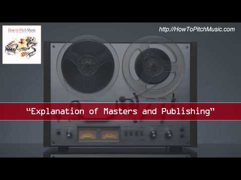 Explanation of Masters and Publishing