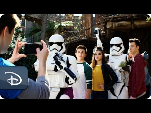 disney channel 365 star wars awakens walt disney world youtube
