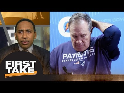 Stephen A. Smith: Bill Belichick's 'cruelty' will not go unnoticed by players | First Take | ESPN