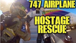 DesertFox Airsoft: Boeing 747 Hostage Rescue (Lion's Claw Tactical Challenge)