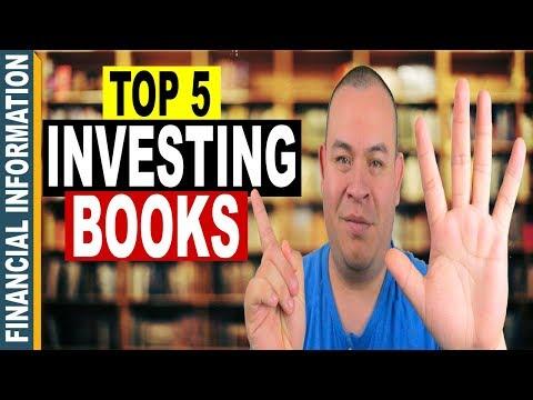 5 Best Investing Books 📚 | Top 5 Best Books for Investors 🔎
