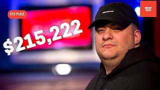 2020 WSOP Main Event Final Table: 6th Place Harrison Dobin