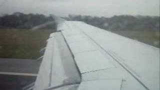 Monarch Airlines Taxi / Takeoff from MAN