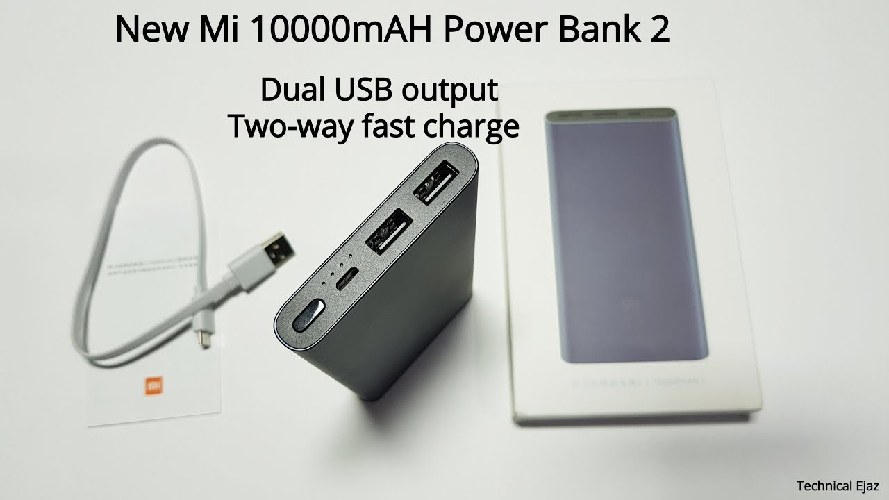 New Xiaomi Mi 10000mah Power Bank 2 2018 Unboxing Review And Original Slim Fast Charge Charging Test