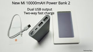 New Xiaomi Mi 10000mAH Power Bank 2 (2018) Unboxing Review And Charging Test