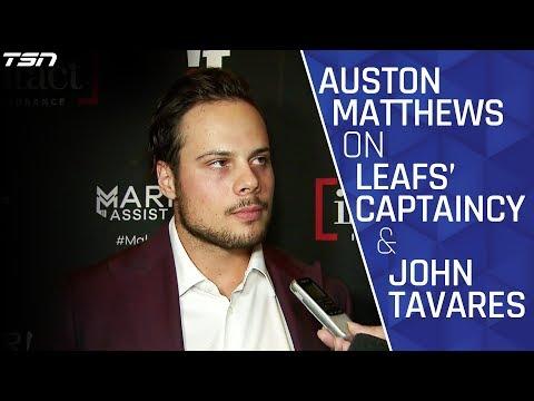 Auston Matthews Talks Maple Leafs' Captaincy and John Tavares