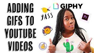 HOW TO ADD GIFs TO YouTube VIDEOS USING ADOBE PREMIERE PRO || Easy step by step || ISOWA GALLERY